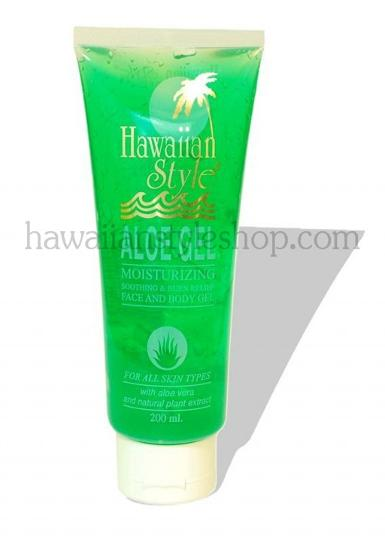HAWAIIAN STYLE ALOE GEL   200 ml.