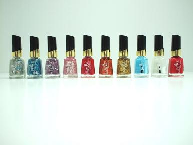 LITTLE ROSE NAIL SLICK (VARNISH, GLITTER)  15 ml.