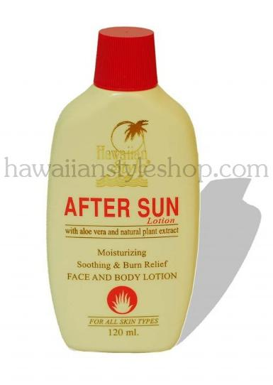 ครีมกันแดด HAWAIIAN STYLE AFTER SUN LOTION  120 ml.